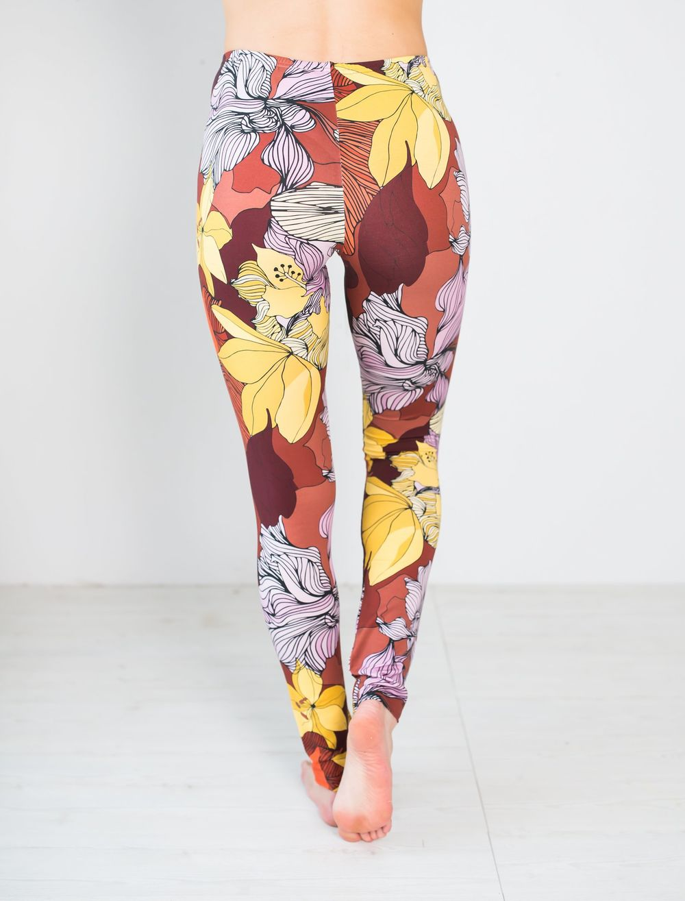 MIAMI Leggingsit, Flower Field
