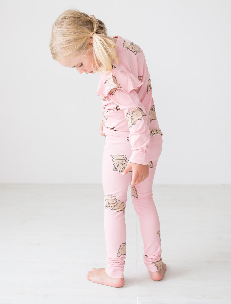 PARIS LEGGINGS, BAT PINK