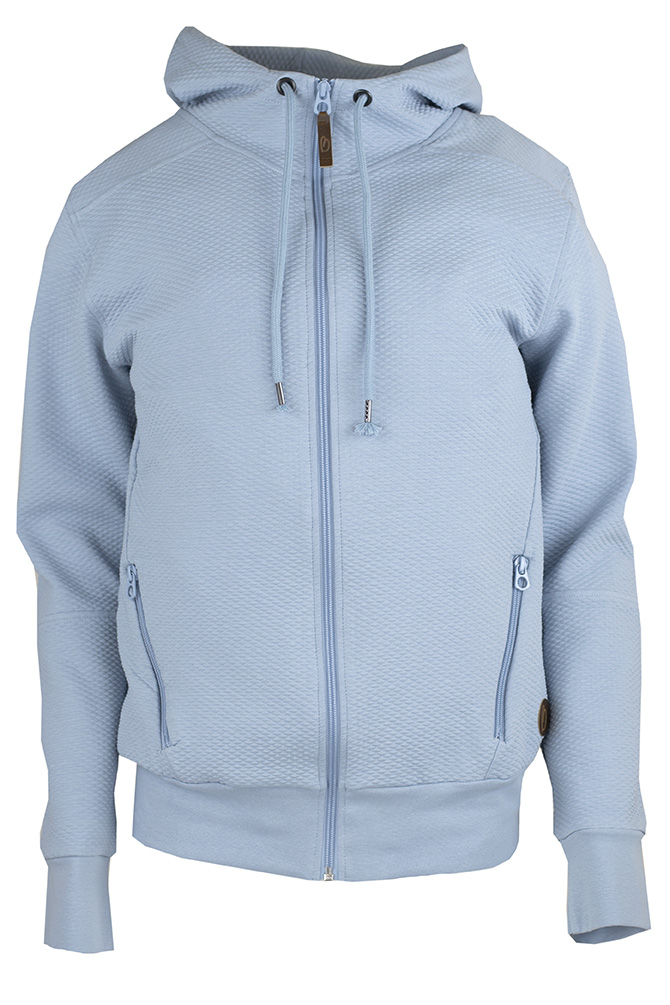 BERGEN  Unisex Collegehuppari, BLUE GREY