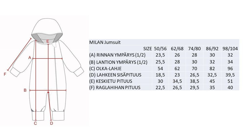 MILAN Jumpsuit  collegehaalari, Chocolate Truffle