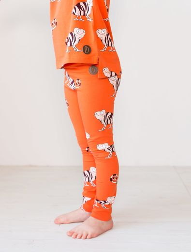 PARIS Leggingsit, Chameleon Orange