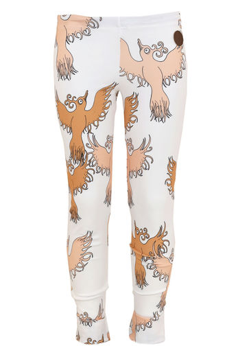 PARIS Leggingsit, Fairytale Bird Peach