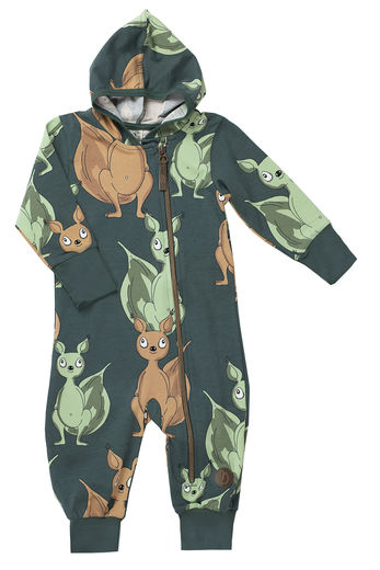 MILAN Jumpsuit trikoohaalari, Squirrel Green